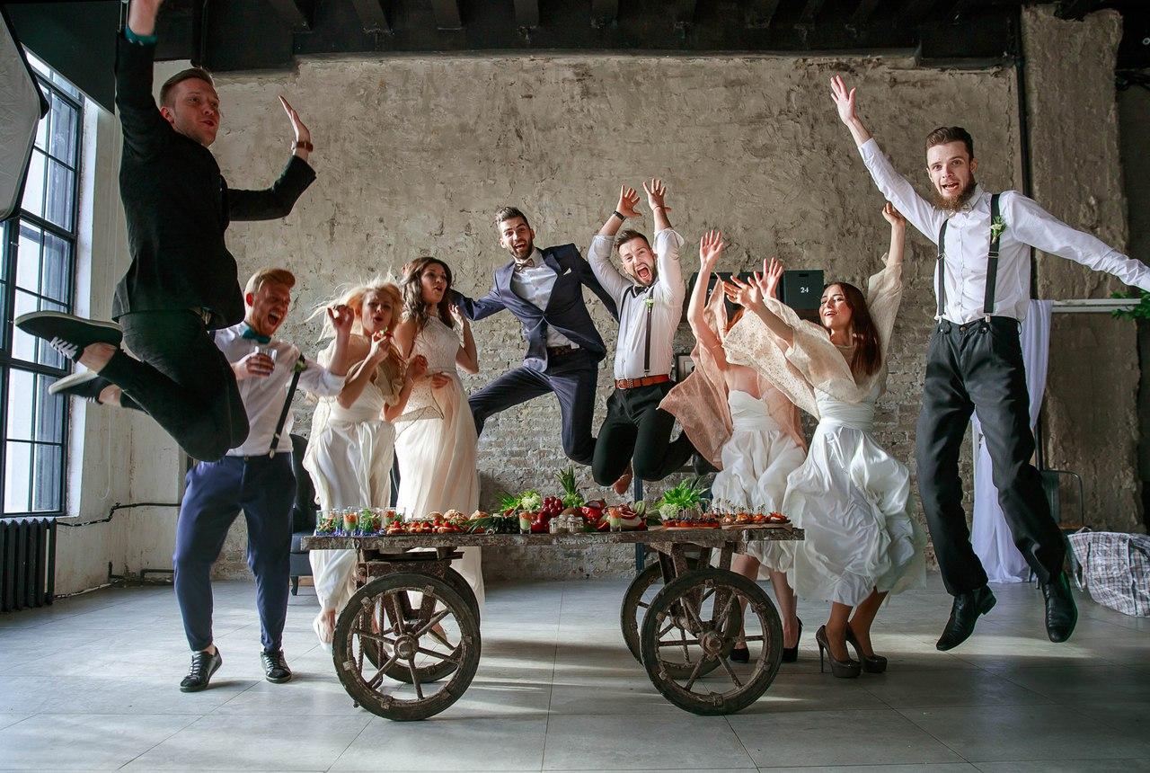Живые эмоции на свадебных фотографиях